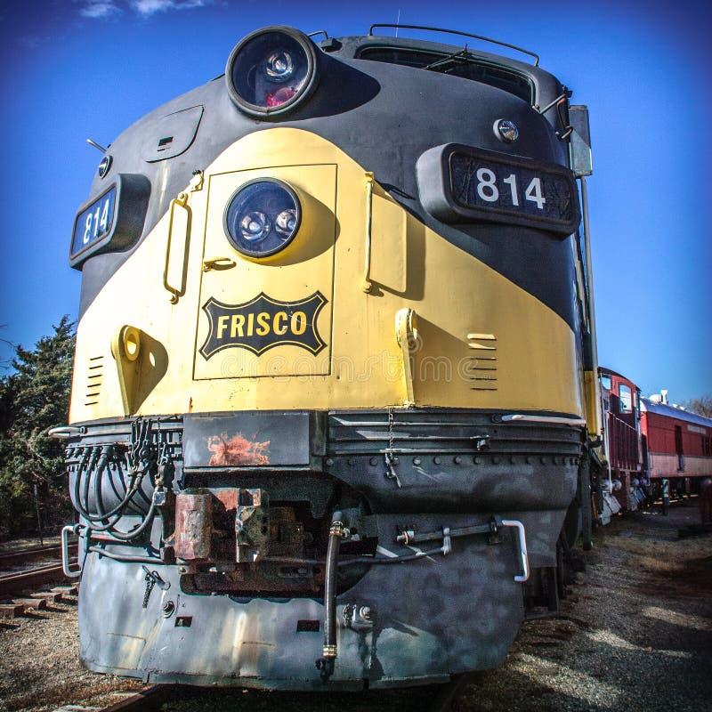 Поезд Frisco стоковые изображения rf