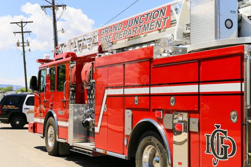 Пожарная машина Grand Junction стоковое фото