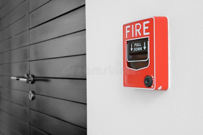 Пожарная сигнализация стоковое изображение rf