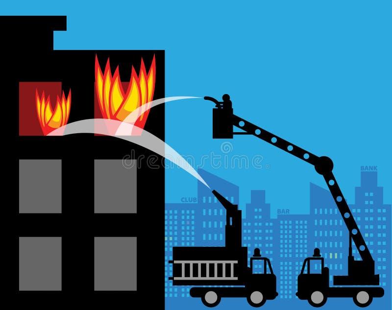 Пожарные машины бесплатная иллюстрация