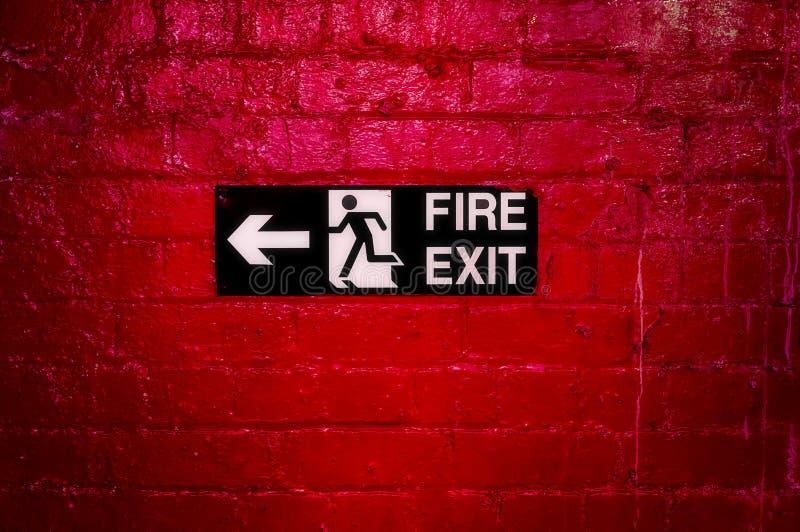 Пожарный выход стоковые изображения