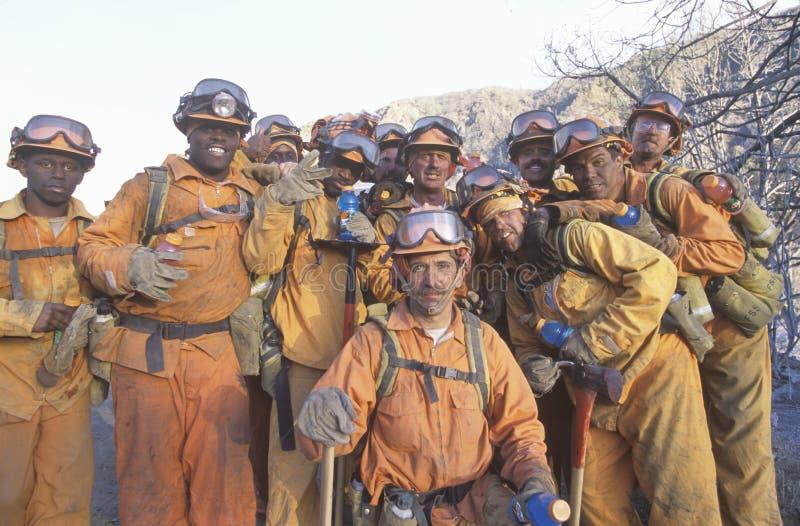 Пожарный наряд стоковые изображения