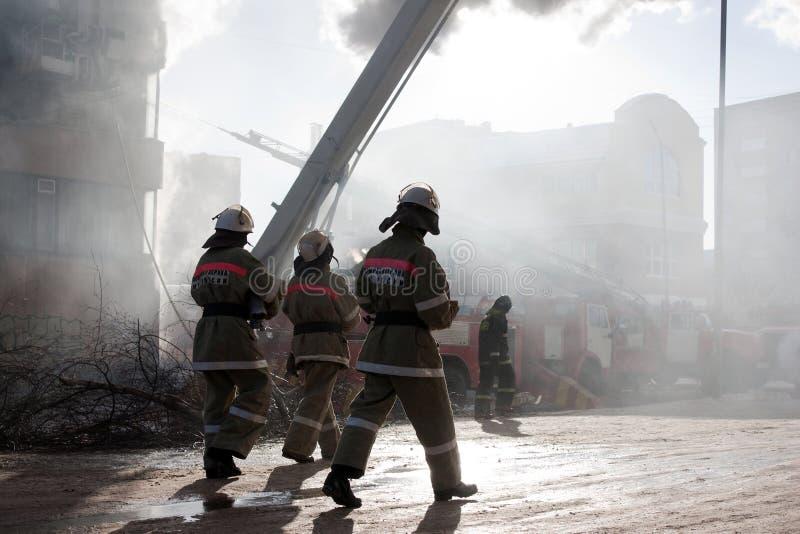 пожарный пожара стоковая фотография