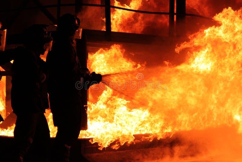 Пожаротушение стоковое изображение rf