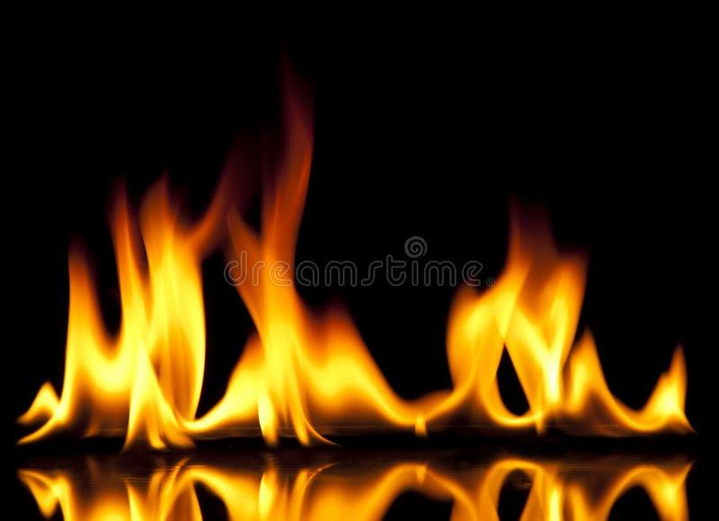 пожар горячий стоковое изображение rf