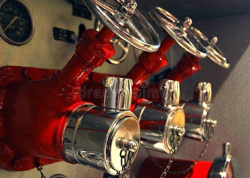 пожар двигателя Стоковое Фото