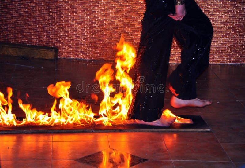 пожар зрелищности стоковое изображение
