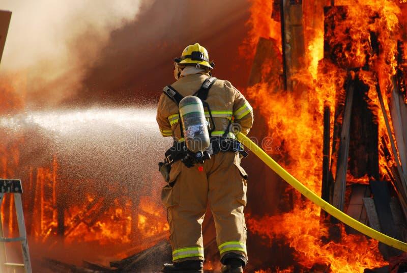 Пожар магазина стоковые изображения rf