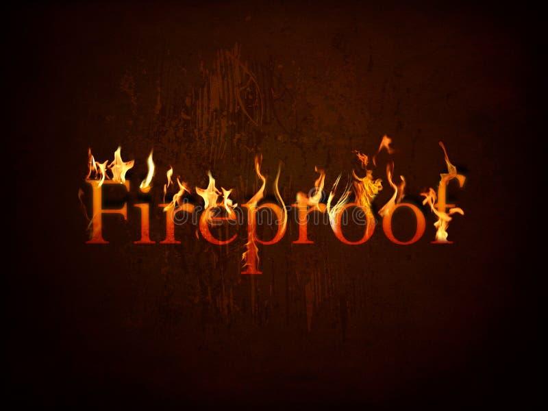 пожар пожаробезопасный иллюстрация вектора