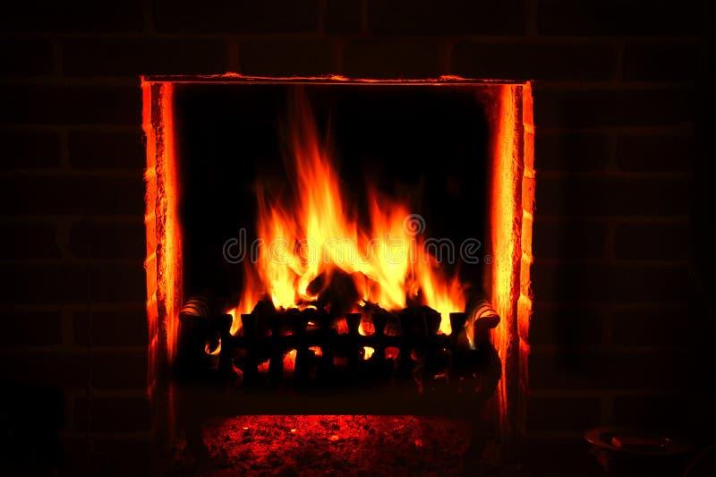Пожар реветь стоковое изображение