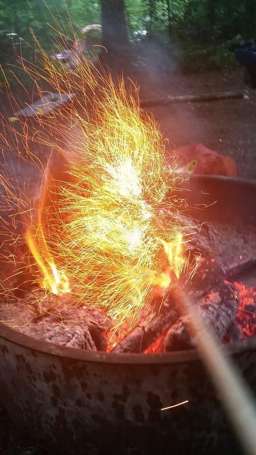 пожар стоковая фотография
