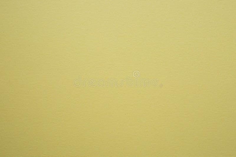 Пожелтейте текстурированную бумажную предпосылку, основу для дизайна стоковая фотография rf