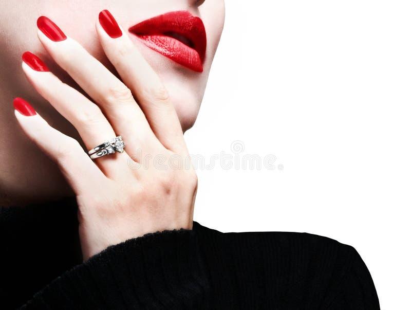 пожененная женщина стоковое изображение rf