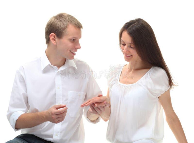 поженитесь я будьте вы стоковое фото