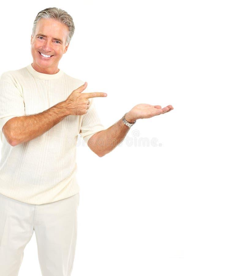 пожилое senoir человека стоковое фото rf