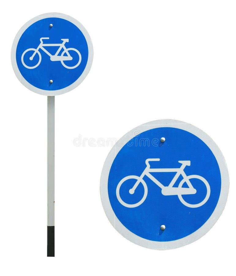 позволенный знак велосипеда стоковое изображение