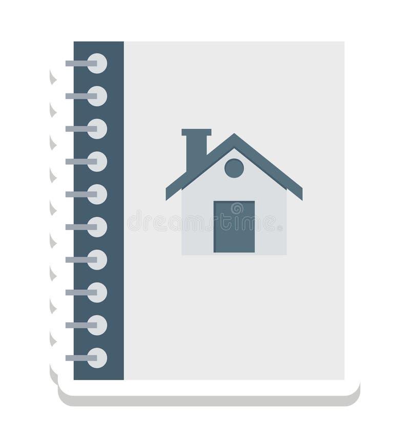 Позвоните по телефону каталогу, списку абонентов изолированные значки вектора смогите быть доработайте с любым стилем бесплатная иллюстрация