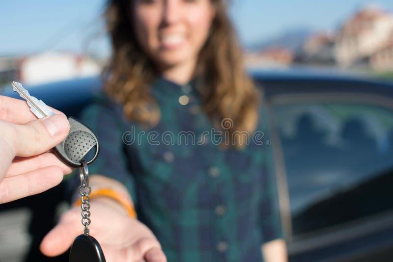 Позволенный вам водитель стоковое фото rf