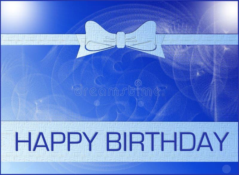 поздравительая открытка ко дню рождения стоковое изображение rf