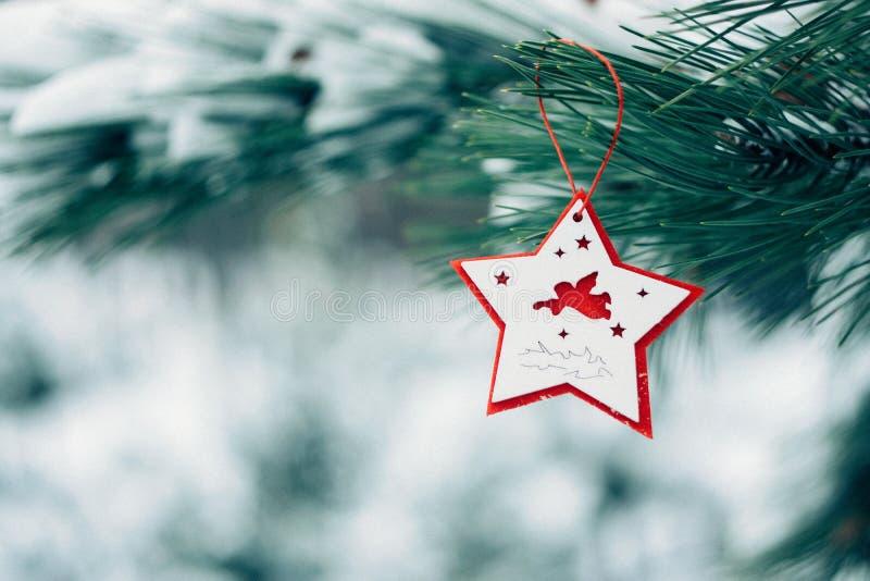 Поздравительная открытка зимнего отдыха рождества стоковое изображение