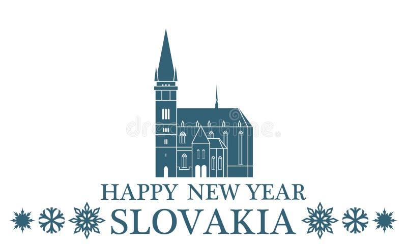 Поздравительная открытка Словакия бесплатная иллюстрация
