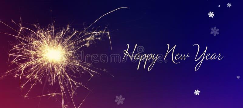 Поздравительная открытка с новым годом стоковые фотографии rf