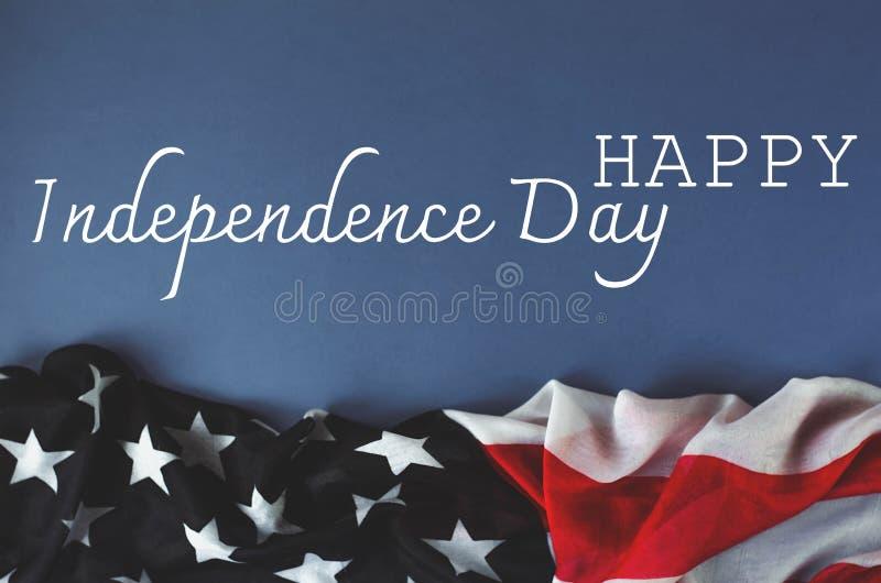Поздравительное фото Дня независимости Америки стоковые фото