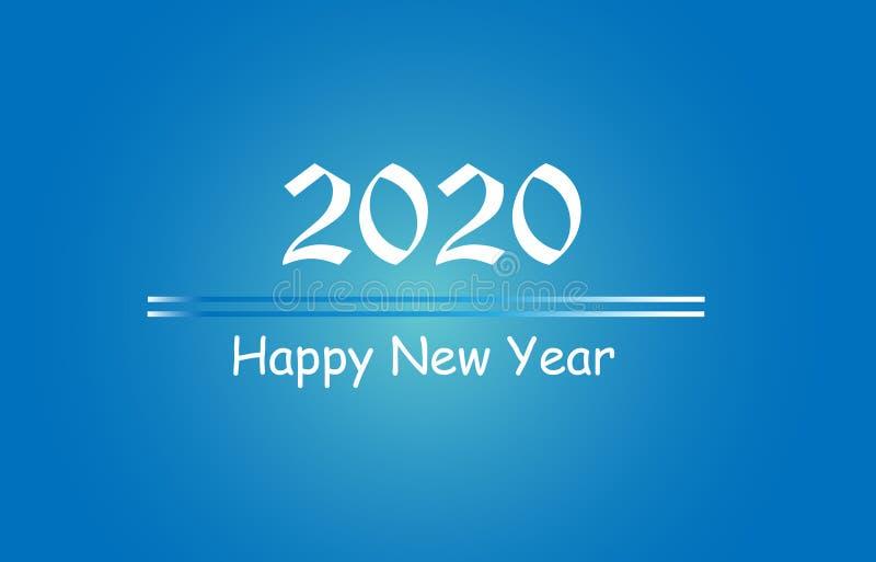 Поздравляем с Новым Годом 2020 Graphics Background Wallpaper Greeting иллюстрация штока