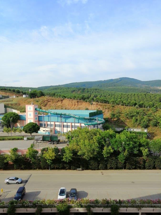 Позеленейте взгляд от Yalova стоковая фотография rf