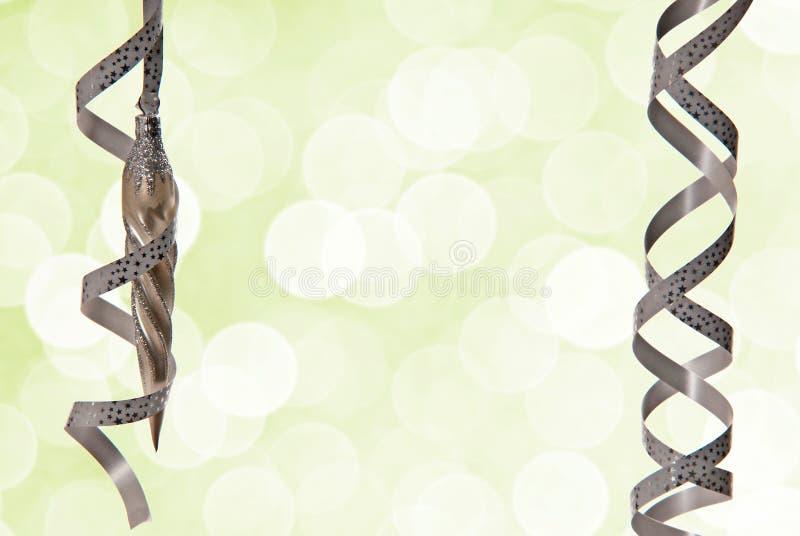 Позеленейте предпосылку рождества стоковые фотографии rf
