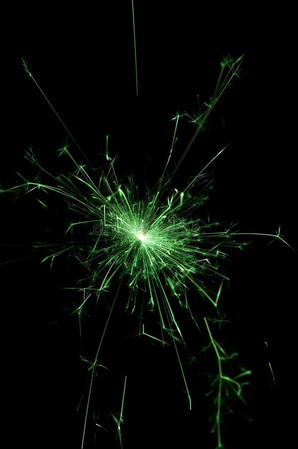 позеленейте sparkle стоковые фото