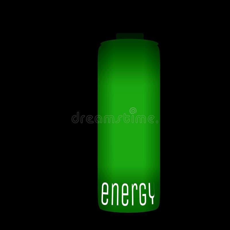 Позеленейте энергию иллюстрация вектора