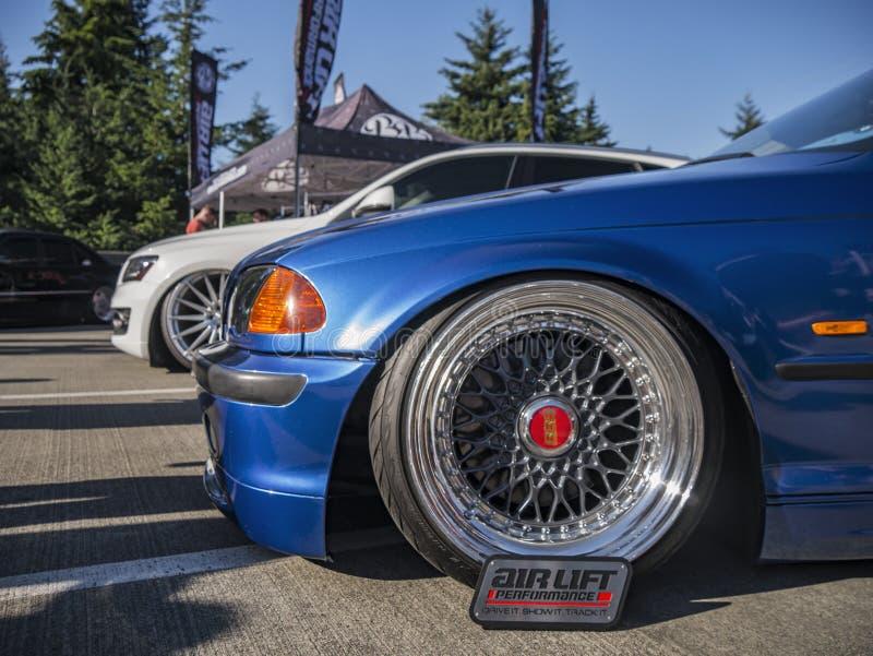Позиция воюет - Сиэтл - BMW стоковые изображения