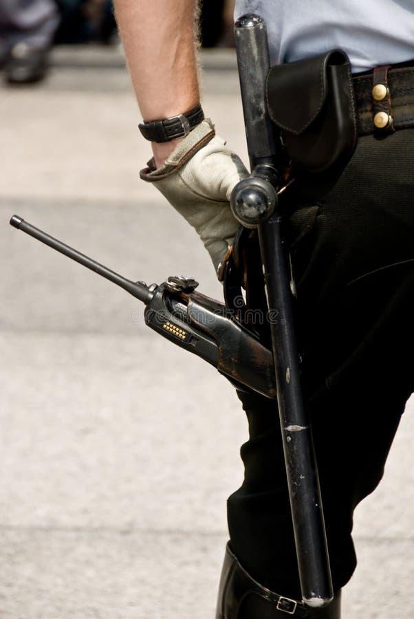 позиция обеспеченностью офицера шестерни наблюдательная стоковая фотография rf