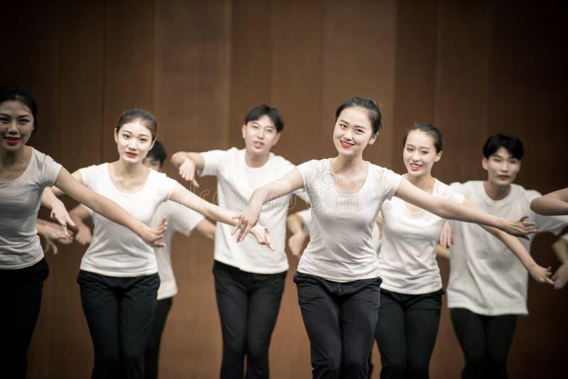 Позиция тренировки позиции танца руки 3-National стоковая фотография rf