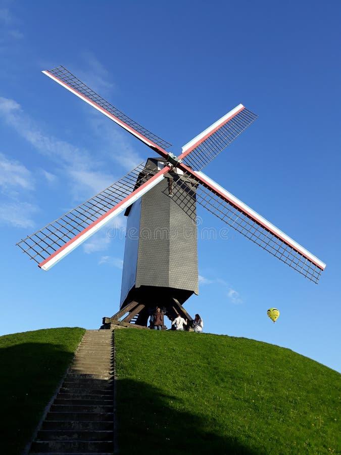 Позыв посетить Брюгге - Бельгию стоковое фото rf