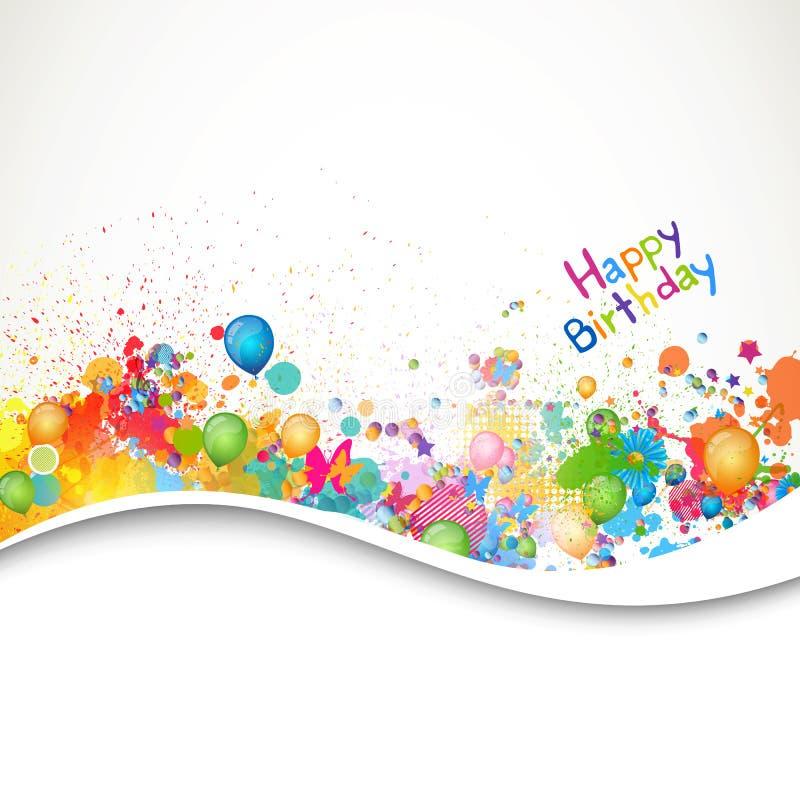 Векторный фон для открытки с днем рождения, учебы прикольные