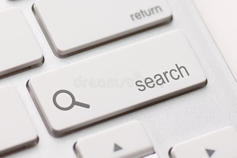 Поиск вписывает ключ кнопки стоковые фото