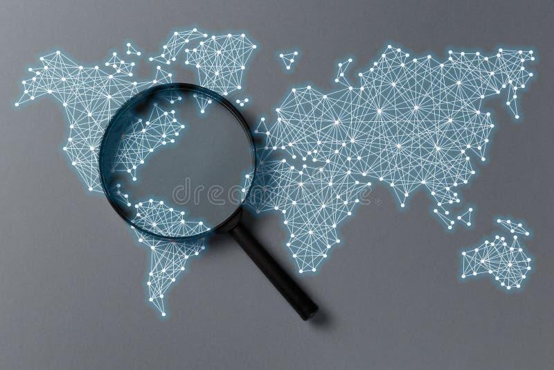 Поиск данным по концепции стоковое изображение
