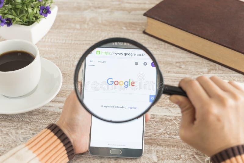 Поиск Google стоковое изображение