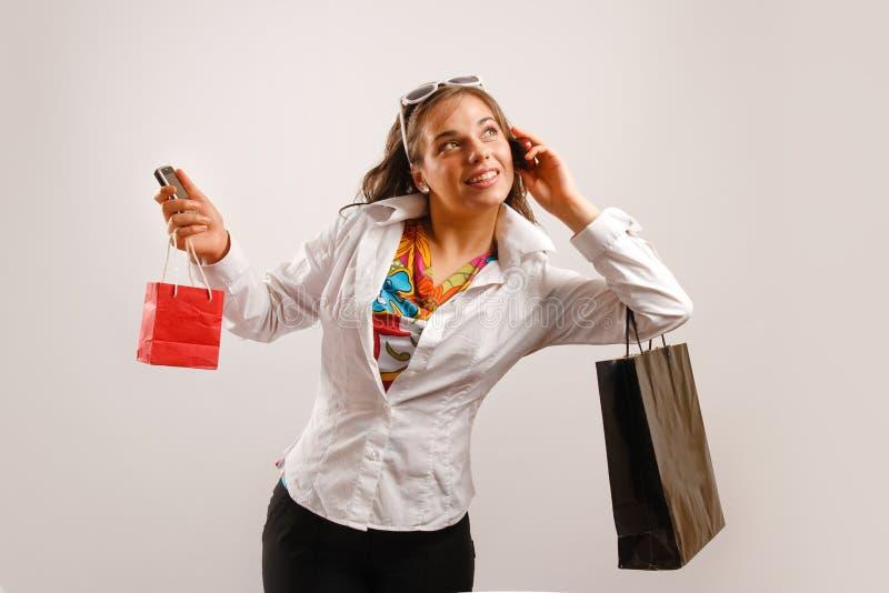 пойденный ходить по магазинам стоковые изображения rf