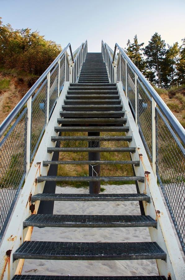 Пойдите вверх по лестницам стоковое фото rf