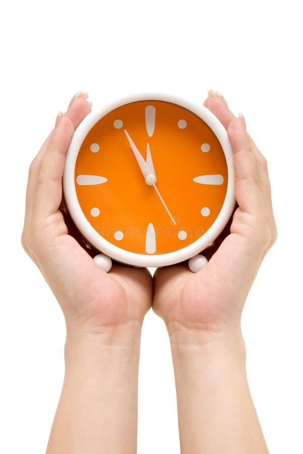 показывать время стоковое изображение