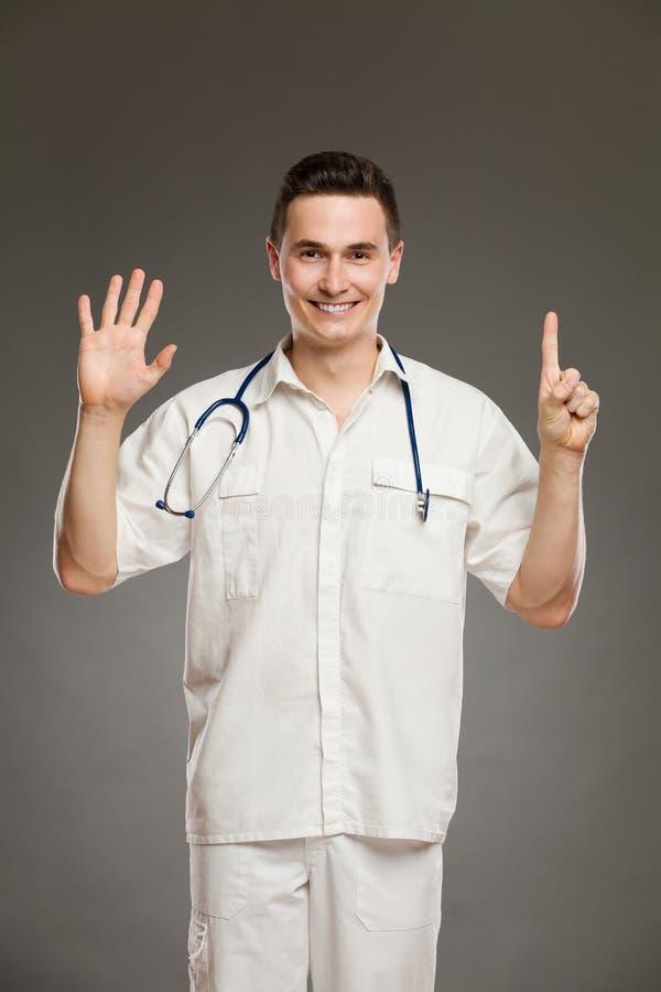 Показ 6 доктора стоковая фотография