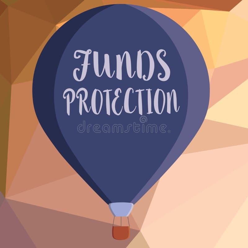 Показ примечания сочинительства финансирует защита Обещания фото дела showcasing возвращают вклад части начальный к инвестору бесплатная иллюстрация