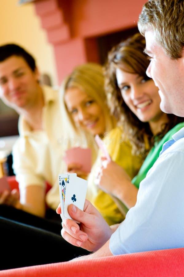 Покер дома стоковые фото