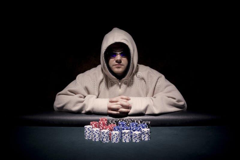 покер игрока стоковая фотография
