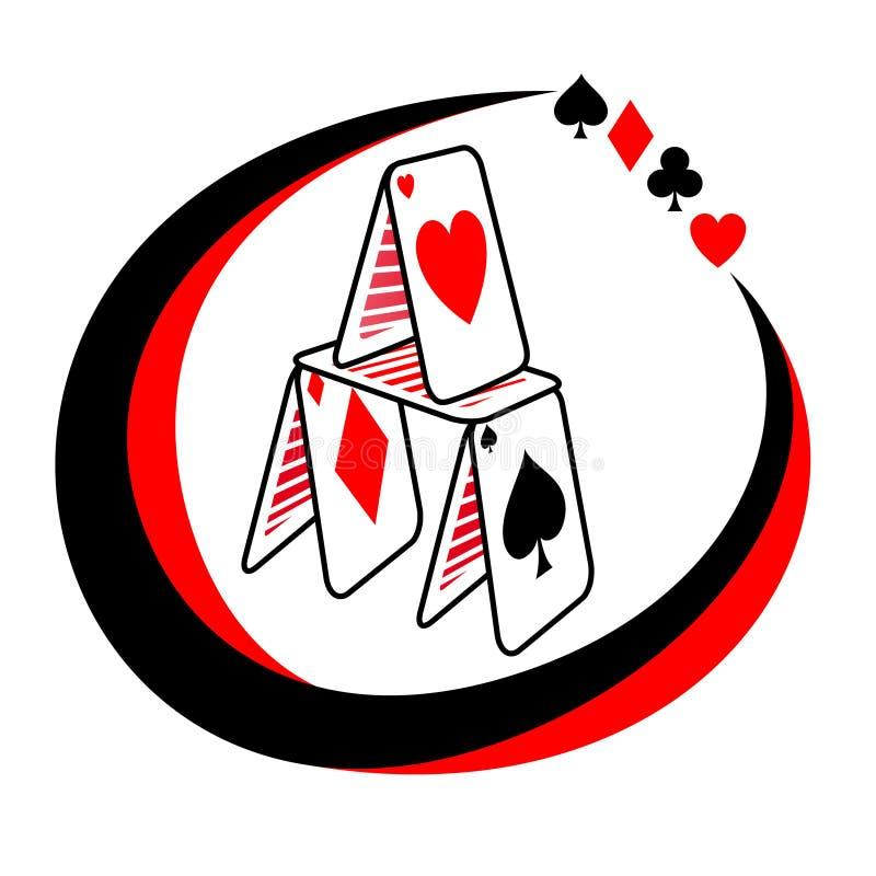 покер иконы иллюстрация вектора