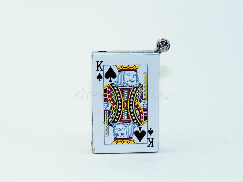 Покер короля стоковые изображения rf