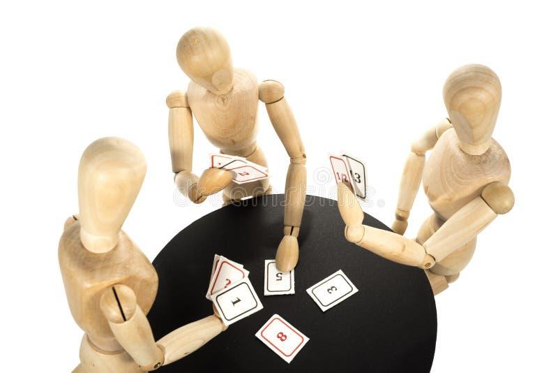 Покер планирования стоковое изображение rf